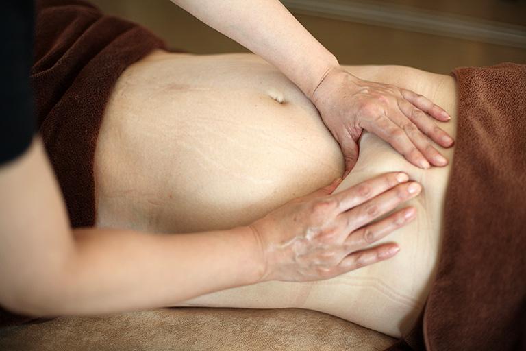 内臓脂肪へアプローチ